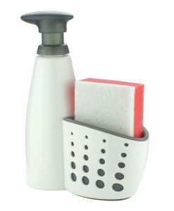 Sink Sider™ Soap Dispenser w/ Sponge