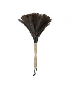 """Feather Duster Wood Handle 14"""""""